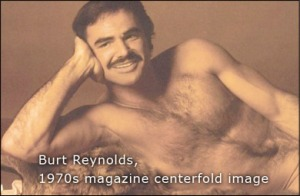 Burt Reynolds centerfold