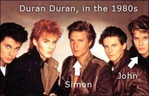 Duran Duran British pop band