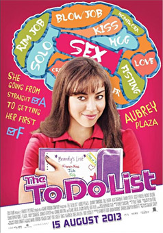 "Movie Poster for the 2013 movie ""The To Do List"""