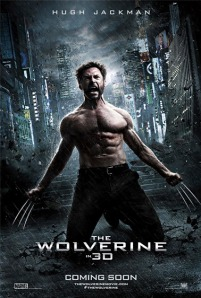 The Wolverine - film starring Hugh Jackman - movie poster, 2013