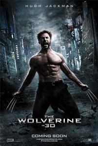 The Wolverine - film starring Hugh Jackman - movie poster, 2013
