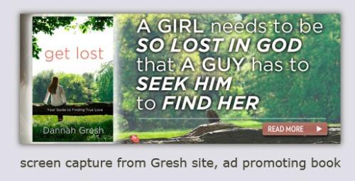 Screen shot of Book Advertisement