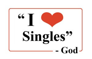 """I Love Singles - God"""