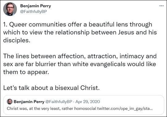 Tweet by Benjamin Perry